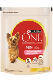 Raá∆o seca PURINA ONE Mini Weight Control