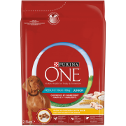 Purina ONE Medium / Maxi > 10kg Junior Rico em Frango com Arroz