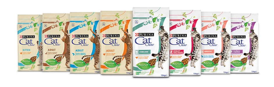 gama purina cat chow banner