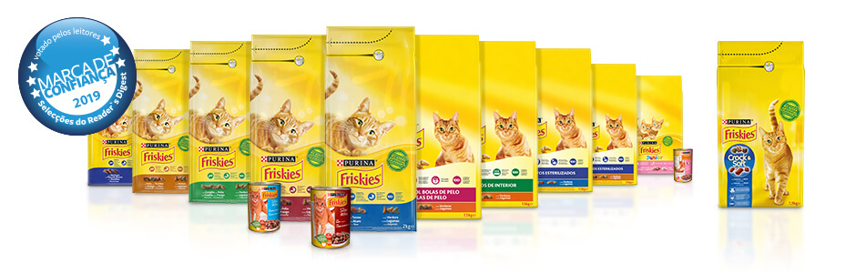 Gama Gato PURINA FRISKIES