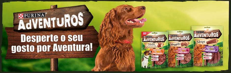 Snacks para cão PURINA Adventuros